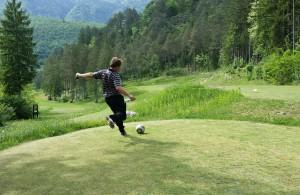 Footgolf Bovec maja 2015