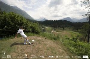footgolf bovec slovenija