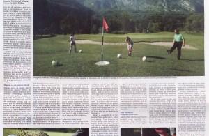 Delo priloga Panorama Zgodba o footgolfu