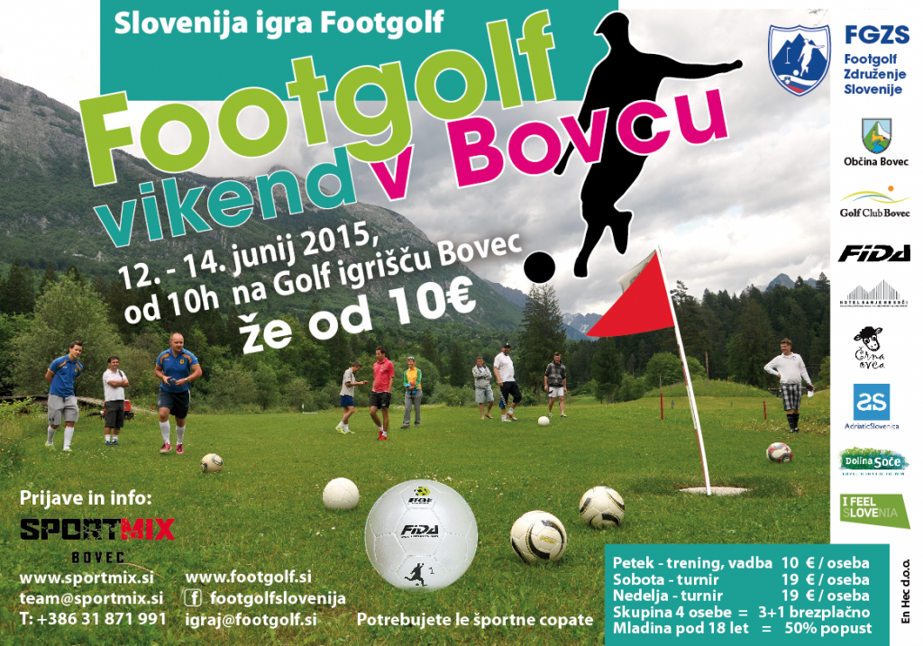 Footgolf Vikend Bovec